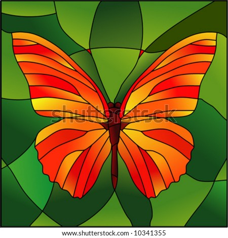 Free Pattern, Large Butterfly - Glass Crafters Stained Glass Supplies