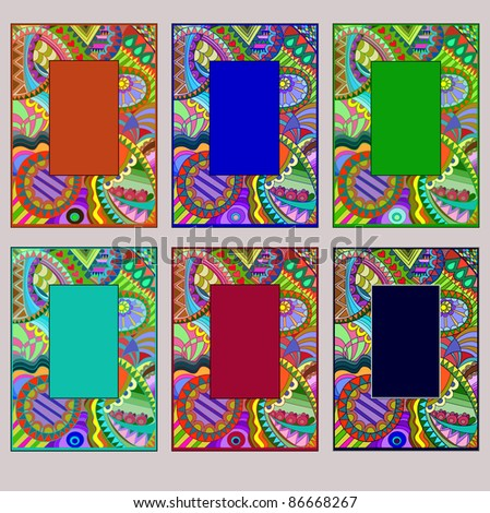 "Stained-glass window  ""Frames"""