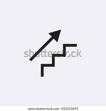 stair up icon