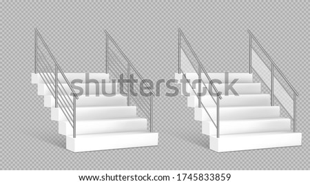 stairs and stainless steel