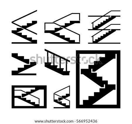 stairs vector