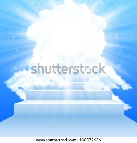 stairway leading to heaven with