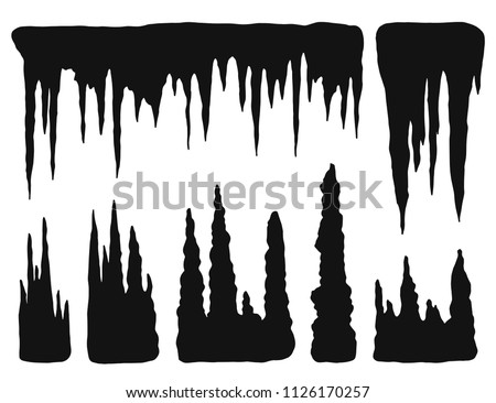 stalactites  growths and