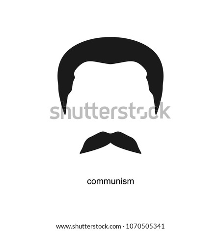 stalin vector hairstyle