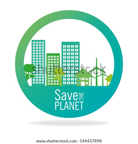stamp save the planet city