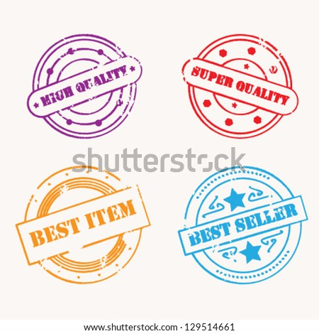 Stamp vector collection
