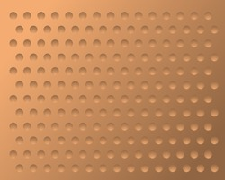 stamping seamless copper texture