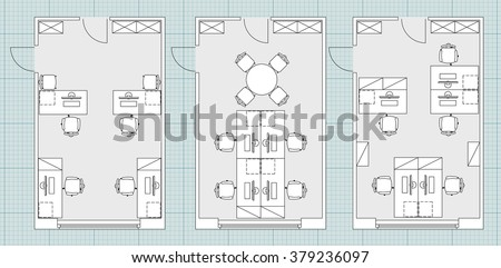 Office floor plan vectors download free vector art stock graphics standard furniture symbols used in architecture plans icons set office planning blueprint graphic design malvernweather Choice Image