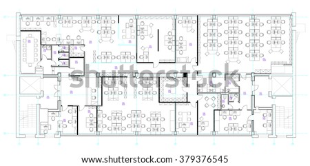 office furniture floor plan. Standard office furniture symbols set used in architecture plans  planning icon graphic Office Floor Plan Vectors Download Free Vector Art Stock