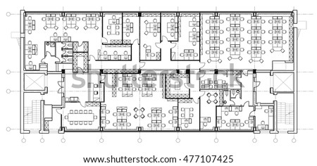 furniture floor plans. Standard Office Furniture Symbols Set Used In Architecture Plans, Planning Icon Set, Graphic Floor Plans