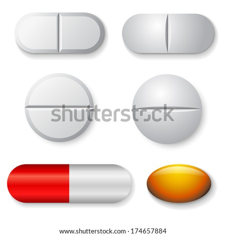 standard tablets and pills