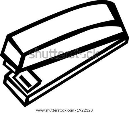 stapler - stock vector