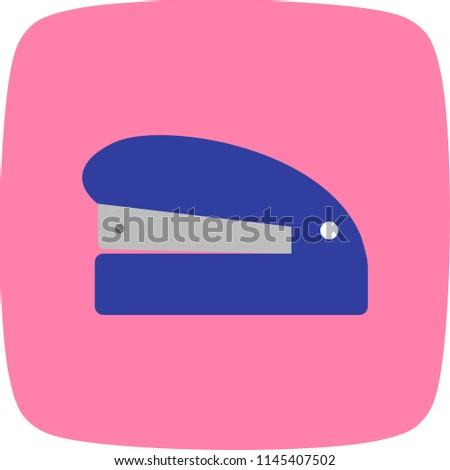 Stapler Flat Icon