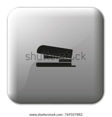 Stapler flat vector icon.