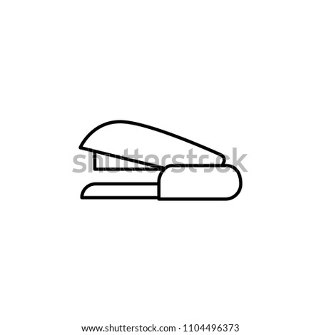 stapler icon. Element of web icon for mobile concept and web apps. Thin line stapler icon can be used for web and mobile. Premium icon on white background