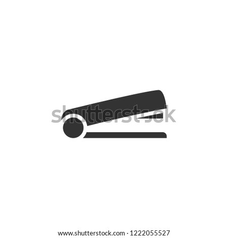 Stapler. Icon Flat