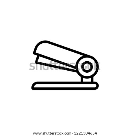 Stapler icon. Vector graduation Icon. Education, academic degree. Premium quality graphic design. Signs, outline symbols collection, simple icon for websites, web design, mobile on white background