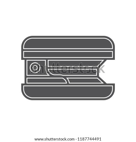 Stapler icon vector isolated on white background for your web and mobile app design, Stapler logo concept