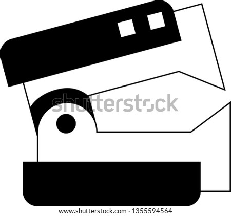 stapler remover icon vector on white background, stapler remover trendy filled icons from Miscellaneous collection, stapler remover vector illustration