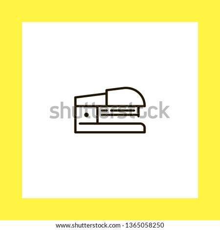 stapler vector icon. flat design