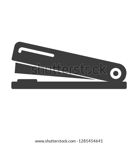 stapler vector icon in modern flat style isolated. stapler support is good for your web design.