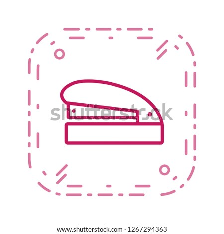 Stapler Vector Icon Sign Icon Vector Illustration For Personal And Commercial Use...Clean Look Trendy Icon...