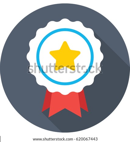 Star Badge Vector Icon #620067443