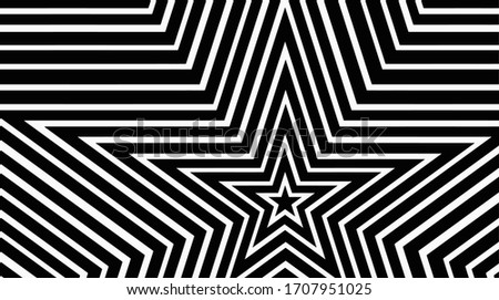 star black and white texture