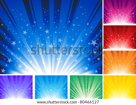 star burst background