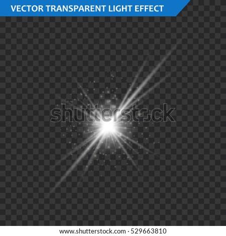 star burst with sparkles glow