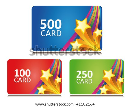 star gift and bonus cards