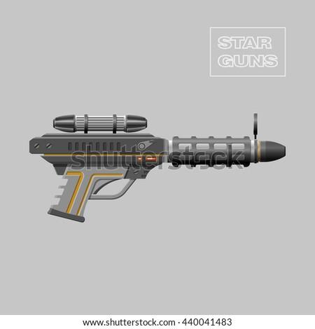 star guns video game weapon