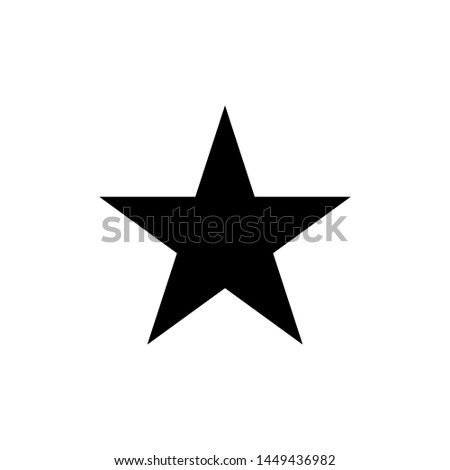 Star icon cymbol isolated vector