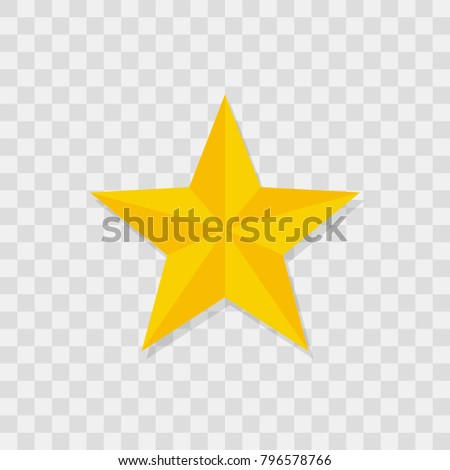 Star icon, star icon sign vector symbol