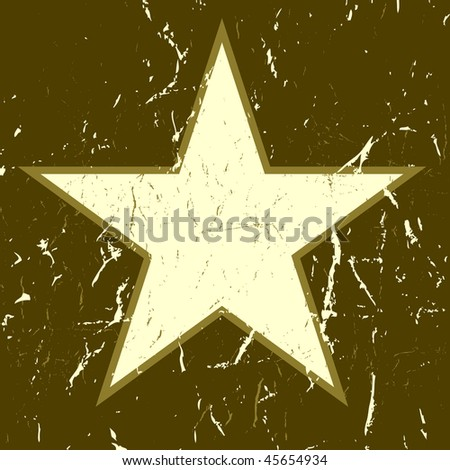 Star icon. Vector.