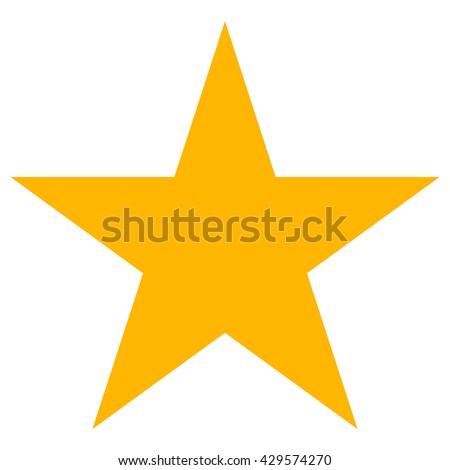 star icon vector line clasic