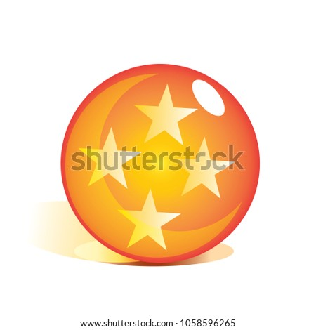 star inside the crystal ball