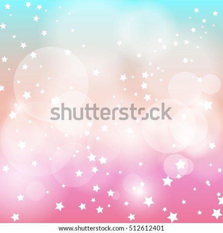 star light with pink and blue