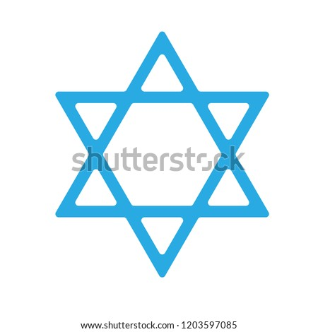 star of David.rounded edges