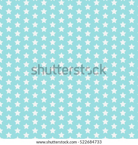 star pattern funny blue print