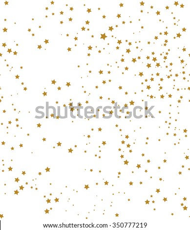 stock-vector-star-pattern-white-background-gold-gift-wrap-vector-illustration