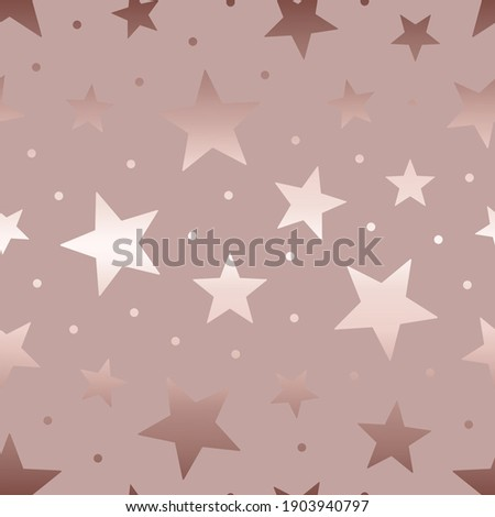Star seamless pattern. Beautiful background with stars. Marble glitter with stars. Repeated modern stylish texture. Repeating elegant fashion star design for wallpaper, gift wrapper, print. Vector