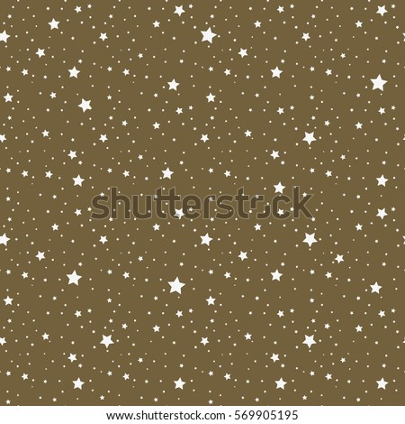 star seamless pattern star