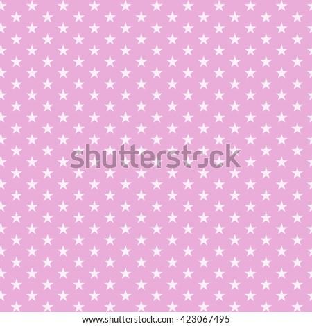 star seamless pattern white