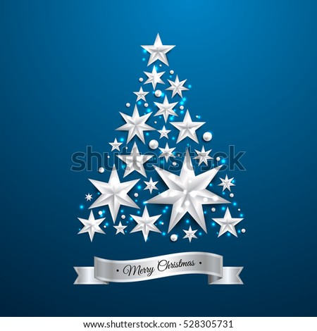 star shape christmas tree
