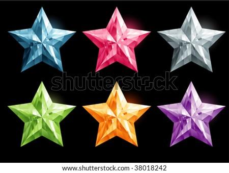star shape gemstone