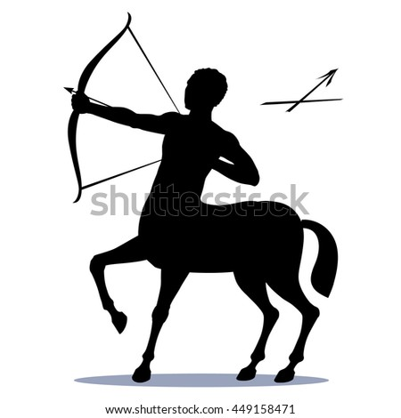 Royalty Free Archer Centaur Half Horse Half Man 345246509 Stock