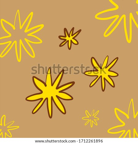 star symbols yellow stars