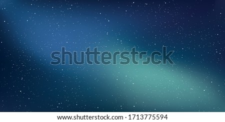 Star universe background, Stardust in deep universe, Milky way galaxy, The night with nebula in the cosmos, Vector Illustration.
