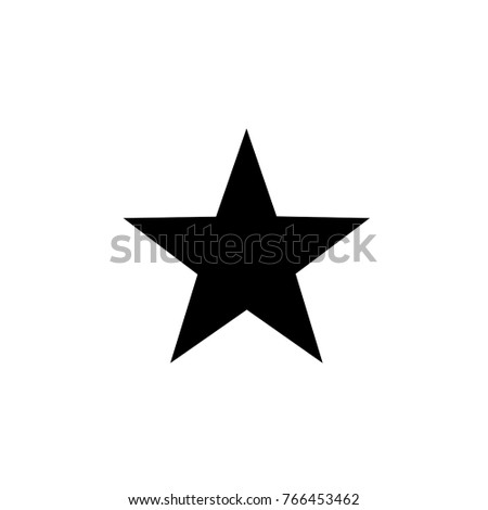 star . vector icon 10 eps